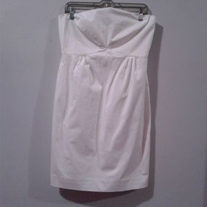 New York & Company Dresses - New York And Company White Strapless Dress